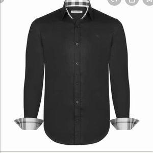 BURBERRY BRIT MEN LONG SLEEVE DRESS SHIRT XLT